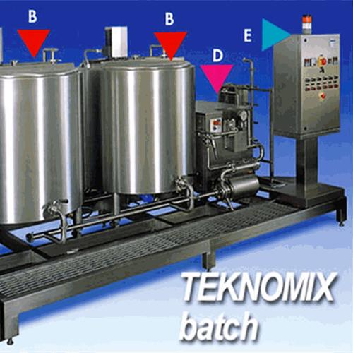 Hệ thống trộn, đồng hoá và thanh trùng kem TEKNOMIX